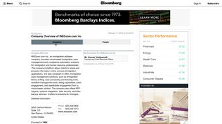 INSZoom.com Inc.: Private Company Information - Bloomberg