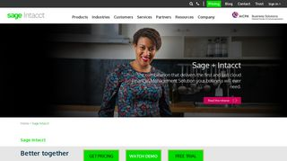 Intacct Acquired by Sage | Sage Intacct
