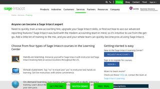 Sage Intacct Training | Learn Sage Intacct Accounting Software