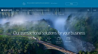 Barclays | Corporate transactional solutions - Barclays Zambia