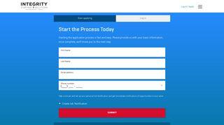 Login/Registration - Integrity Staffing Solutions