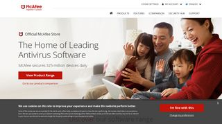 McAfee AntiVirus Software Solutions | McAfee™ Official Store UK