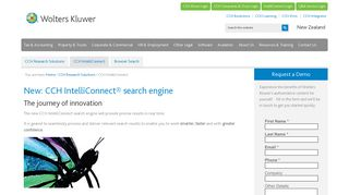 CCH IntelliConnect - Wolters Kluwer New Zealand