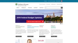 Wolters Kluwer   Tax and Accounting Canada