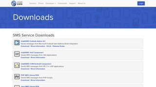 SMS Solutions - Downloads - IntelliSMS