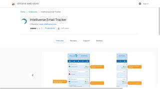 Intelliverse Email Tracker - Google Chrome