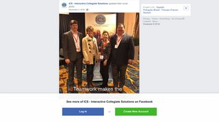 ICS - Interactive Collegiate Solutions - Facebook
