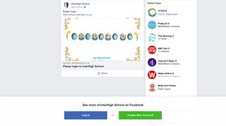 Easter Login http://school.interhigh.co.uk/ - InterHigh School   Facebook