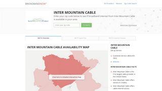 Inter Mountain Cable | Broadband Service Provider | BroadbandNow ...
