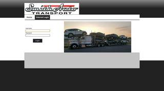 Internal Login - Smith Auto Transport, Inc.