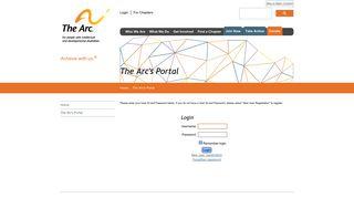 The Arc | Internal Login
