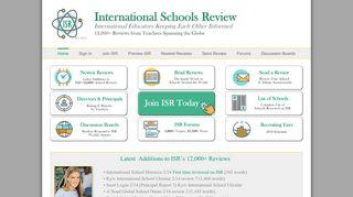 International Schools Review