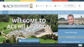 International School in London | ACS Hillingdon | ACS International ...