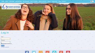Log in » Student Exchange Australia New Zealand