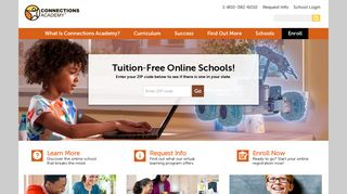Connections Academy: K-12 Online Public School from Home