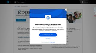 Access from AT&T - Discount Internet Access