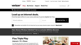 Verizon Fios Phone, TV, Internet Packages and Bundles - Triple or ...