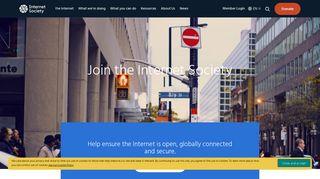 Join the Internet Society | Internet Society