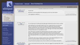 New WebMail Site - Internode - Whirlpool Forums