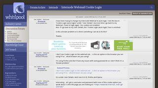 Internode Webmail Cookie Login - Internode - Whirlpool Forums