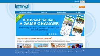 Interval International   Help Login