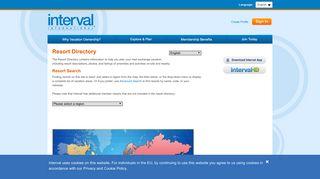 Interval International   Resort Directory Home