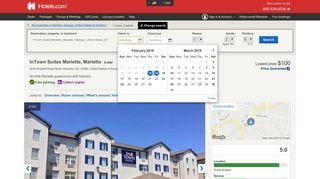 Book InTown Suites Marietta in Marietta | Hotels.com