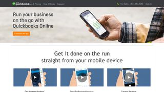 QuickBooks Online Mobile Accounting App for iOS & Android ... - Intuit