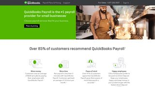 Payroll Software & Services for Small Business | Intuit QuickBooks ...