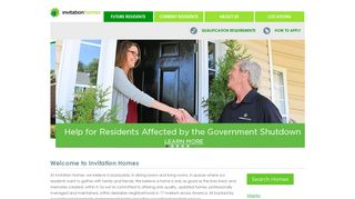 Houses for Rent   Single Family Home Rentals from Invitation Homes