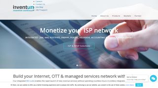 AAA, ISP billing, Routers, Virtual Routers & CGN | Inventum