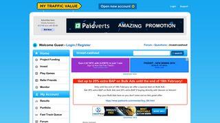 Login / Register Forum - Questions - invest-cashout - My Traffic ...