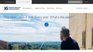 IG Private Wealth Management | IG Wealth Management