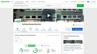 InVision Human Services Reviews   Glassdoor
