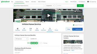 InVision Human Services Employee Benefits and Perks   Glassdoor