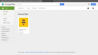 Android Apps by Invoice Bee on Google Play
