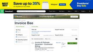 Invoice Bee - Download.com
