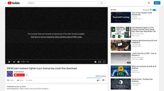 [NEW] iobit malware fighter 6 pro license key crack free download ...