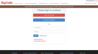 Login to Access your Account - Skyfi Labs