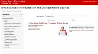 Home and Family - Iowa State University Extension and Outreach ...