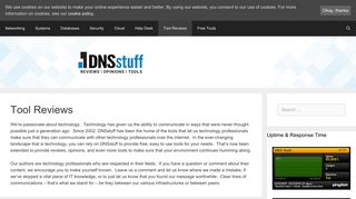 Tool Reviews Archives - DNSstuff