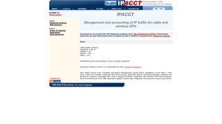IPAcct - IP Accounting - Home