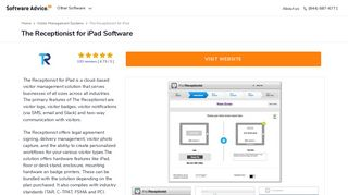 The Receptionist for iPad Software - 2019 Reviews - Software Advice