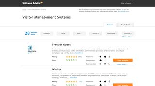 Best Visitor Management Systems - 2019 Reviews & Pricing