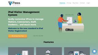 VPass   iPad Visitor Management System