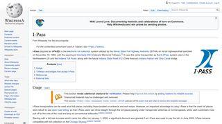 I-Pass - Wikipedia