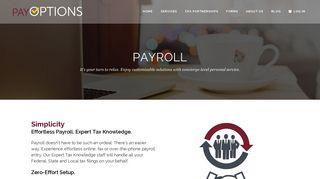 Payroll - PayOptions