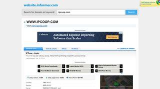 ipcoop.com at WI. IPCoop - Login - Website Informer