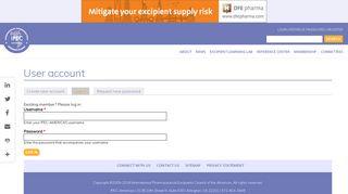 login now - IPEC-Americas