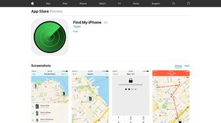 Find My iPhone on the App Store - iTunes - Apple